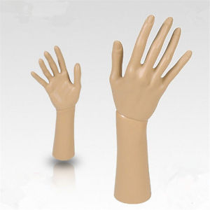 Mannequin Hand Display Jewelry Bracelet Necklace Ring Glove Stand Holder Hot BB