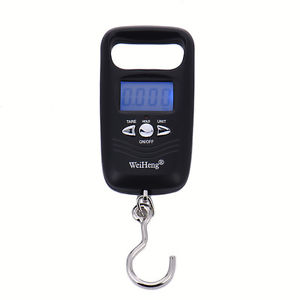 Mini Portable Industrial Mini Digital LCD Crane Scale Heavy 50kg Electronic Hook