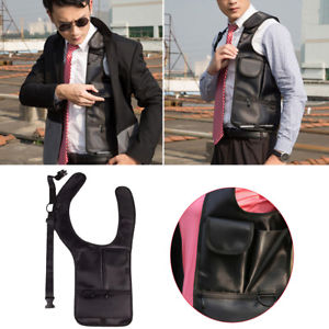 Underarm Holster Anti-Theft Single Shoulder Bag Hidden Card Case Wallet Phone