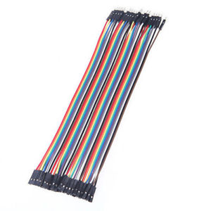 200PCS Dupont wire jumpercables 20cm 2.54MM male to female 1P-1P For Arduino#D#
