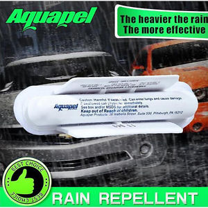 New AQUAPEL Applicator Windshield Glass Treatment Water Rain Repellent Repels