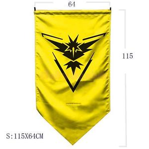 Alcoa Prime Pokemon Go Flag Team Banner Wall Door Hanging Poster Sign Decor Instinct #2