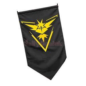 Alcoa Prime Pokemon Go Flag Team Banner Wall Door Hanging Poster Sign Decor Instinct #1