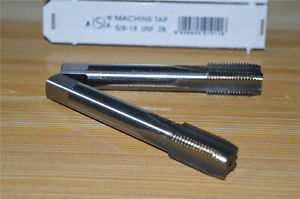 "Alcoa Prime 1pcs HSS Right Hand Tap 5/8""-18 UNF Taps Threading 5/8-18 UNF 2B"