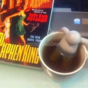 Cute Cartoon Tea Infuser Silicone Strainer Loose Leaf Herbal Filter Hot Diffuser