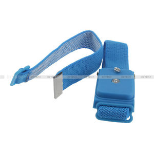 Wireless Cordless Anti-Static Wrist-Band Wristband Strap Discharge Cables D