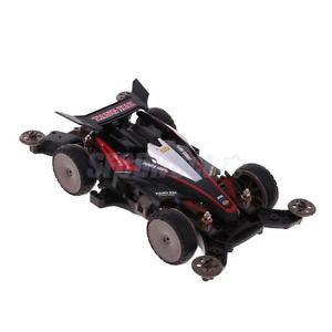 Alcoa Prime DIY 4WD Racing Car Electric Toys Assembled Toys Collectable Gift YK3 Black