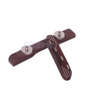 Alcoa Prime Vintage Adjustable Rosewood Bridge for Mandolin Musical Instrument Part