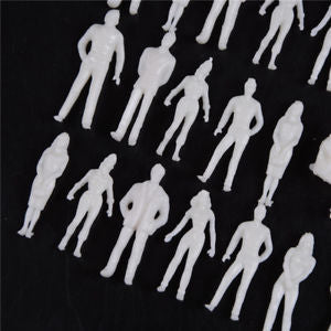 Alcoa Prime 10 PCS 1:50 scale model human scale HO model ABS plastic peoples Pop!