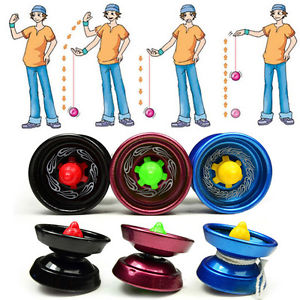 Alcoa Prime Aluminum Design Professional YoYo Ball Bearing String Trick Alloy Kids