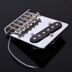 Alcoa Prime Vintage Chrome 6 saddle Bridge Pickup for Fender Telecaster Tele Electric Guitar