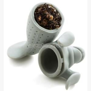 Cute Seal Tea Infuser Silicone Strainer Loose Leaf Herbal Filter Hot Diffuser