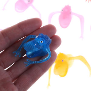5PCS Novel plastic finger puppet story Mini dinosaur toys with small finger WF