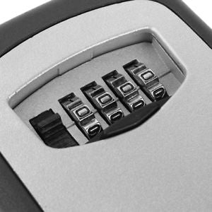 Password Combination Key Safe Security Storage Box Lock Case Outdoor Wall Mount