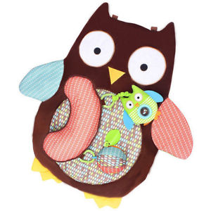 Cartoon Owl Baby Infant Tummy Time Crawling Play Mat Game Pad Pillow Toy Sanwood