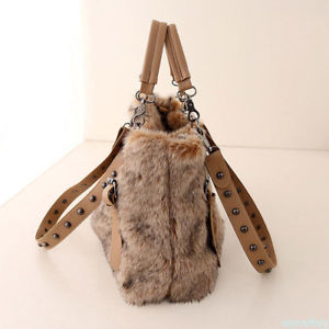 The women's autumn and winter new handbags Super Soft Plush shoulder bags