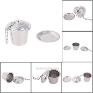 Stainless Steel Tea Infuser Loose Leaf Tea Strainer Herbal Spice Filter r#H3