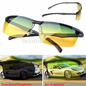 Alcoa Prime Cool Man Anti-Glare Sport Sunglasses UV Polarized Night Vision Driving Glasses