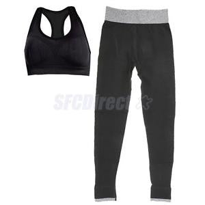 Alcoa Prime 2 Pieces Sports Wear Athletic Workout Yoga Legging & Sports Bra Set,Size M
