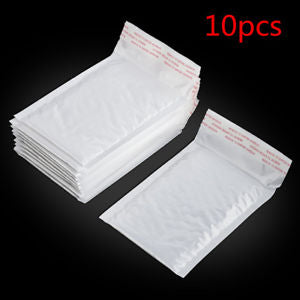 Wholesale 10Pcs Poly Bubble Mailers Padded Envelopes Shipping Bags Self Seal HS