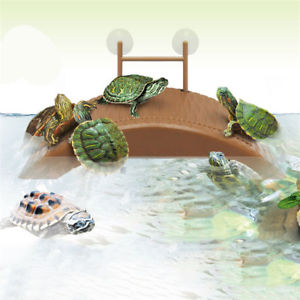 Float Aquarium Tank Turtle Reptile Basking Terrace Island Platform House Dock