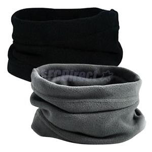 Alcoa Prime 2 Pieces Women Men Thermal Fleece Beanie Hat Snood Scarf Neck Warmer Ski