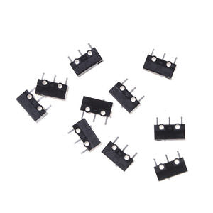 10PCS Authentic OMRON Mouse Micro Switch D2FC-F-7N Mouse Button Fretting WF