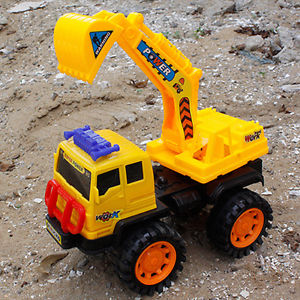 Alcoa Prime ToyCar Vehicle Playset Excavator Mixer Dump Truck Bulldozer Construction New Pop
