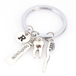 Dentist Keyring Dentist Keychain Dental Assistant Gift Dental Hygienist Keyring