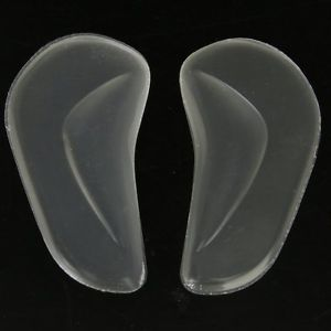 1 Pair of Gel Arch Support Inserts for Children Flat Feet ---Small Size K6G4