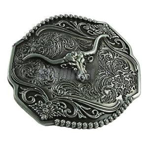 Alcoa Prime Cowboy Belt Buckles Round Vintage Pattern Tang Dynasty Design Cool Ornaments