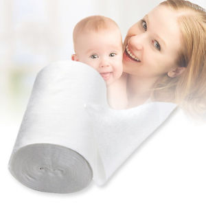 Alcoa Prime Baby Flushable Biodegradable Cloth Nappy Diaper Bamboo Liners 100 Sheet/Roll F5
