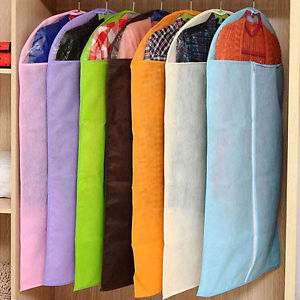 Special Non-woven Thicken Cloth Hanging Dustproof Cloth Garment Suit Cover Bag b