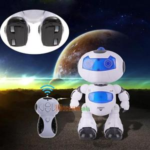 RC Toy Remote Control Musical Electronic Walk Dance Lightenning Robot Kids Gift