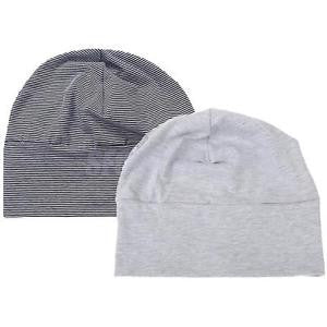 Alcoa Prime 2 Pieces Adult Unisex Cotton Night Cap Sleep Patch Sleeping Head Hat