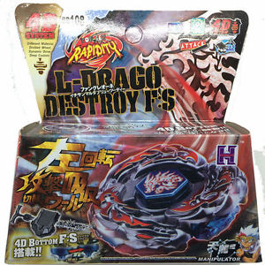 BB108 L-Drago Destroy F:S Metal Fight Beyblade 4D System+Launcher  G