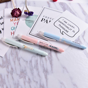 0.38mm Creative Cartoon Plastic Fountain Pen With Ink Sac Pen For Writing Gift &