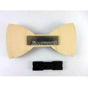 Fashion Handmade Wooden Bow Tie Mens Gifts Wedding Wood Butterfly Solid bowtie