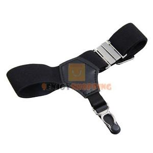 1 Pair Sexy Black Unisex Sock Garters Sock Suspender Accessories Men Women New