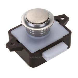 Large Push Lock Button Catch Drawer Cupboard Door Knob for Ship Yacht RV r#H3