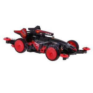 Alcoa Prime DIY 4WD Racing Car Electric Toys Assembled Toys Collectable Gift YK1 Red