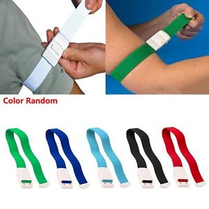 2PCS Color Random Slow Release Medical Emergency Gear Tourniquet Buckle Belt