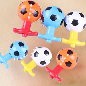 Alcoa Prime Colourful Light & Music Soccer Football Gyro Peg-Top Spinning Tops Kid Child Toy