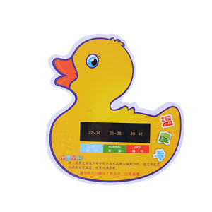 Cartoon LCDWater Temperature Meter Baby Take Shower Thermometer Bath Thermometer