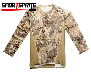 Alcoa Prime Chiefs Rattlesnake Camouflage Moisture-wicking Long-sleeve T-shirt Tops (XL)