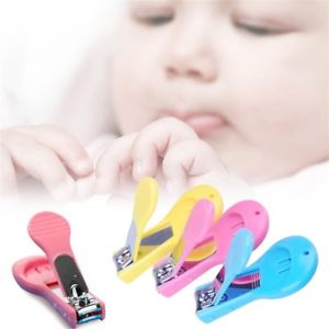 Baby Nail Clippers Safety Cutter Care Toddler Infant Scissors Manicure Set TB