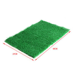 Alcoa Prime Dog Training Indoor Potty Synthetic Grass Pee Pad For Pet Cat Puppy Restroom New