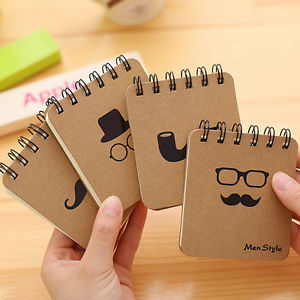 90 pages Style Notebook,Creative Notepad Business Diary Office Student TB