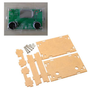 1 x Transparent acrylic Enclosure for DSP & PLL Digital Stereo FM Radio K7N4