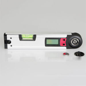 Steel LCD Electric Useful Protractor Digital Goniometer Angle Finder Miter tool